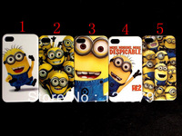 Free shipping Wholesale 100pcs/lot Despicable Me 2 hard case cover for iphone 4 4G 4S