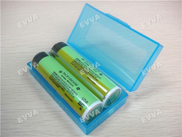 48pcs/lot EVVA Quality 18650 3.7V 3400mAh NCR18650B Protected Li-ion Battery with Gold-plated PCB Free Shipping via UPS(China (Mainland))