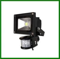 10W 20W 30W 50W AC85V-265V PIR Motion Sensor LED Flood light garden light landscape light,free ship!