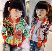 Free shipping Retail 2013 new girls Coat girl's Jacket children clothing