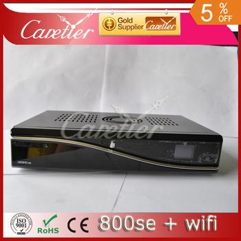 sunray 800 se hd wifi internal,  800se wifi one tuner sim2.10 HD satellite receiver dvb 800 hd se wifi (5pcs 800se wifi)