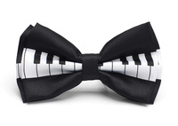 "Free shipping- Bow tie for Men Men's Unisex ""Piano key"" pattern Tuxedo Dress Bowtie Brand New"