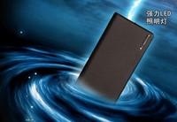 Wallet style LED Flashlight 20000mAh Power Bank External Portable Universal Phone Mobile power supply+ Retail box