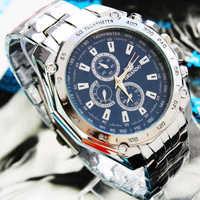 2014 New,Free Shipping Hot Sales Design Men's WristWatch,Business Men Fashion 3 Colors Dress Watch,Stainless Steel Quartz Watch
