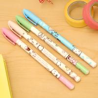 Ann Gel Pens Korea School Supplies Stationery Cute Kawaii Cute Cat Full Needle 0.35mm Gel Pen