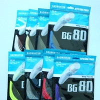Free shipping(20pcs/lot)Wholesale BG80 Badminton String/Badminton Racket /Badminton Racquet(10M)