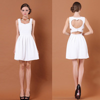 fashion heart  one-piece dress 2013 fashion dresses