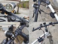 Free Shipping 3800LM 3xCREE XML XM-L T6 LED Bicycle Bike Head Light Lamp 1x8.4v 15600mAh Battery Pack 1PCS NEW