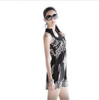 2013  Bohemian Style Retro Totem Sleeveless Flexible Dress for Spring and Summer  Free Shipping Wholesale WQX001