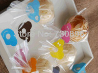 Free Shipping! Lovely Bears Plastic Clip Tie For Bakery/Candy/Gift Packing, Gift Tie, PVC Clear Tie, Sealing Clips, 250pcs/lot
