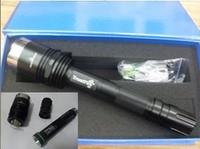 Domestic X8  lashlight LED flashlight T6 LED aluminum flashlight explosion-proof flashlight condenser 500M range