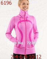 Free shipping,2013 Hot Seller Fashion Lululemon Scuba Hoodies,size4,6,8,10,12,Wholesale lemon Jacket outwear coat