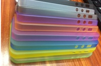 0.2mm ultra-thin matte shell protective sleeve cover for iphone 5 r frosted Scrub protector free shipping