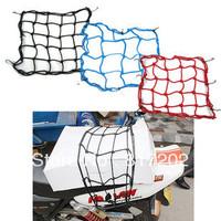 4PCS Motorcycle Bike ATV Offroad Board GoCart accessories TANKED TKD RACING Universal 6 Hooks Bungee Cargo Net Helmet Net