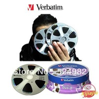 HOT- 2013 NEW ,Verbatim Blank  DVD+R,High quality A+ Grade,DigitalMovie series,4.7G,16X,120min,25 Discs,Free shipping