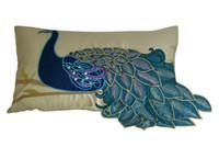 "New Fashion Vivid Peacock Fancy Decorative Throw Toss Lumbar Pillow Case Fancy Cushion Cover Sham 20"" x 12"" (51cm x 30cm)"