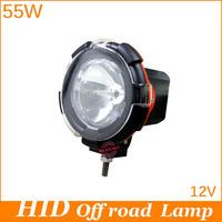 Free  shipping, 55W 4inch HID XENON DRIVING LIGHT Floodlight/Sportlight Working light for 4X4 4WD heavy suvs truckslights