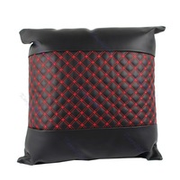 Office Home Car Auto Foam Pad Back Support Faux Leather Cushion Throw PillowFree Shipping wholesale/retail