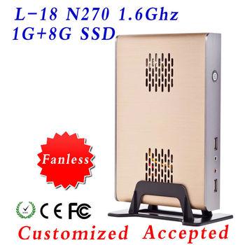 super mini desktop PC-station atom mini pc XYC L-18 with 21*14*4cm small body and support wifi