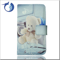 Free Shipping Most popular special phone back cover for samsung s4 leather flip case
