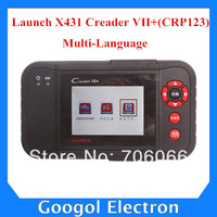 Original Launch X431 Creader VII+ (CRP123) Multi-Language Diagnostic Instrument With High