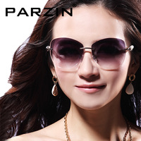Parson sunglasses diamond luxurious pearl rhinestone women's sun glasses fashion rimless sunglasses
