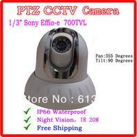 Sony 700TVL PTZ  Camera IR 20M  Indoor CCTV PTZ Camera With 3.6mm Lens
