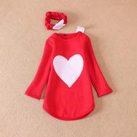 New design and fashion suits retail Kids clothes set 3pcs/Set  Girl dress suit  100~140 Baby clothing