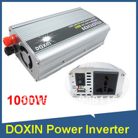 Power Inverter DOXIN 1000W USB Convert DC 12V electricity source into AC 220V power