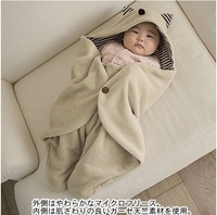 Infant boy winter was blankets multifunctional baby sleeping bag newborn holds animal style