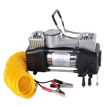High power double cylinder high pressure air inflatable pump night car air pump ne-622