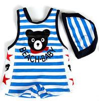 """New baby Boys Swimwear kid boys swimsuit bathing suit """"bear""""  size:(3-6T)"""