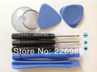 100set/Lot Repair Opening Tool Kit With 5 Point Star Pentalobe Torx Screwdriver iPhone htc nokia Samsung LG Motorola+Retail bags