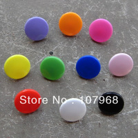Wholesale: 1500pcs (10 Color*150PCS), T-3 Plastical Quarto-Buttons,Plastic Resin Snaps,Plastic Button.