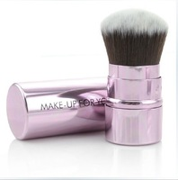 free shipping makeup tools retractable make-up brush loose powder brush foundation brush blush powder brush