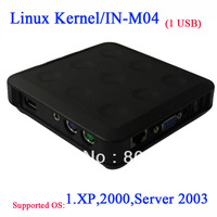 Embeded linux thin clients with 1 USB port turn on into ulimited computers XP 2000 Server 2003 N330 thin clients Linux Client