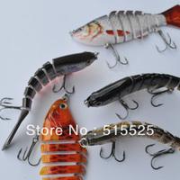 Free shipping 5pcs 2014 best popular fishing lure hard lure swim bait