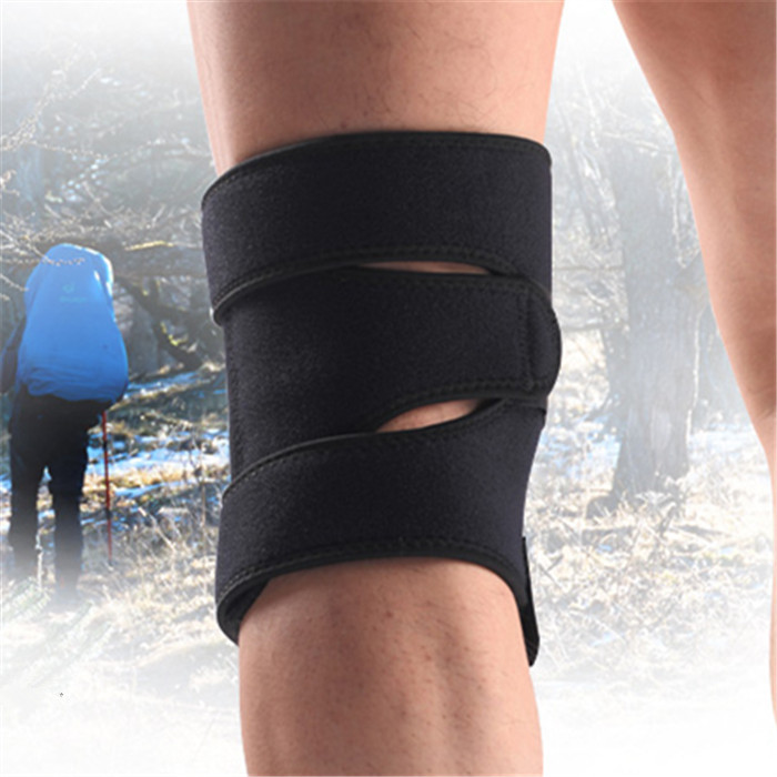 Nitinol Coil Spring Outdoor Climbing Cycling Four Spring Coil Adjustable Knee Pad Products