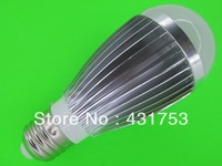 LED bulb 14W Dimmable Bubble Ball Bulb AC85-265V ,E14 E27 B22 GU10,,warm/cool white,7*2w +freeshipping
