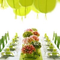 Party decoration 40cm Multicolour fashion paper lantern 16' wedding lantern paper lamp cover wedding supplies