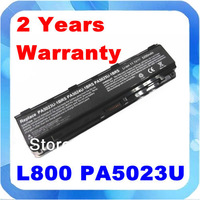 New Laptop Battery PA5025U PA5026U PA5024U PA5023U PABAS260 PABAS261 PABAS262 for Toshiba Satellite L800 L850 Series