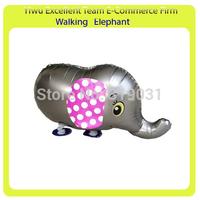 "Free shippping 100pcs/lot mix order walking animal balloon helium balloon average17"" x 27"""