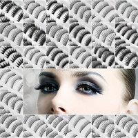 10 Pair/lot Natural OR Thick Fake False Eyelashes Eye Lash  HK  + Original Package for Xmas
