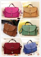 Retro Messenger Bag Shoulder Bag Diagonal Fashion 2014 Designers Crossbody Bags For Women  Leather Handbag