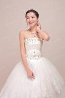 News Wedding Latest alibaba summer sweet princess maternity dress the bride tube top wedding dress  china dress