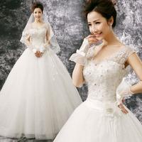 Wedding ON sale Latest Princess bride V-neck lace bag wedding qi formal dress new arrival hs51 alibaba  china dress