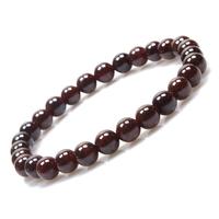 Natural stone bracelet claretred garnet women's bracelet beads bracelet transhipped beads bracelet