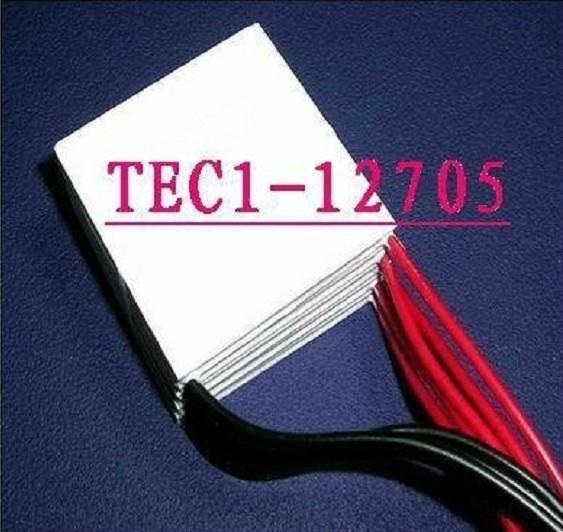 Tec1-12705 40 mm x 40 mm TEC Thermoelectric Cooler Peltier Thermo geradores de refrigeração grátis frete(China (Mainland))