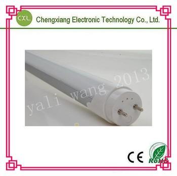 T8 LED tube (18W,288pcs smd epistar led ,1800lm,CRI 78Ra 120cm,alu shell,alu pcb) EMS Russia 2700k-6500k