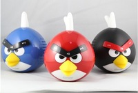 HIGH  QUALITY  Portable Mini Angry-Bird  MP3 Player  with  Micro TF card reader- Free Shipping